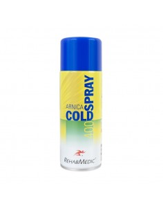 Spray de frio Cold Spray Árnica RehabMedic 400 ml.