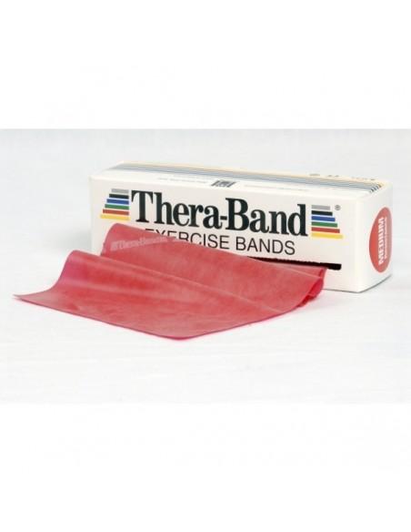 Cintas elásticas Thera-Band roja