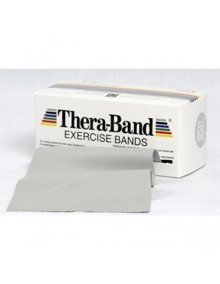 Cintas elásticas Thera-Band plata