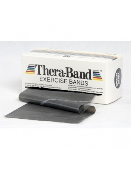 Cintas elásticas Thera-Band negra