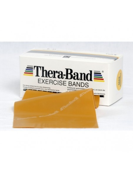 Cintas elásticas Thera-Band oro