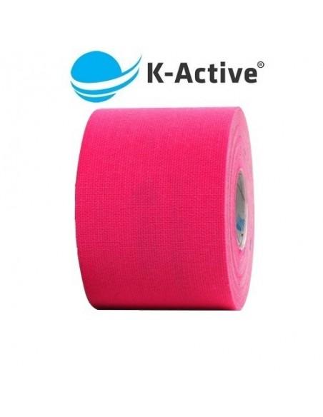 Kinesio K-ACTIVE 5cmx5m. vendaje neuromuscular rosa