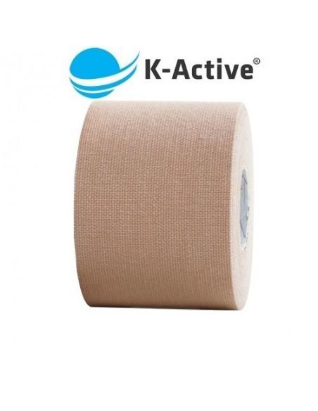 Kinesio K-ACTIVE 5cmx5m. vendaje neuromuscular beige