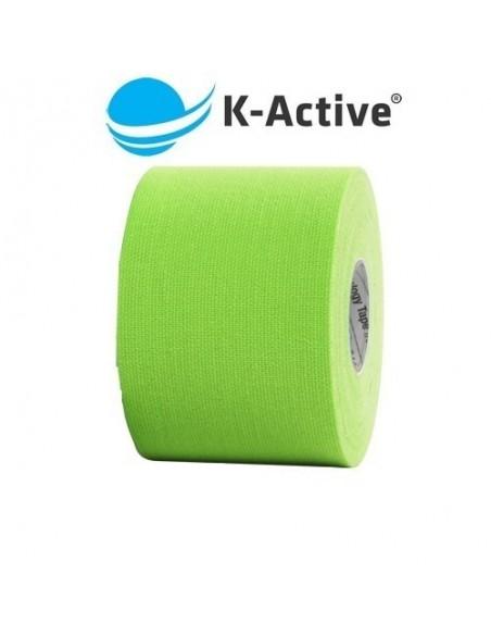 Kinesio K-ACTIVE 5cmx5m. vendaje neuromuscular verde