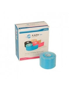 Vendaje neuromuscular K-ACTIVE 5cmx5m. azul