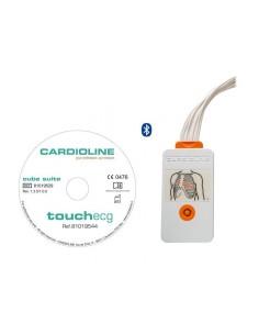 Electrocardiógrafo Cardioline TouchECG HD+