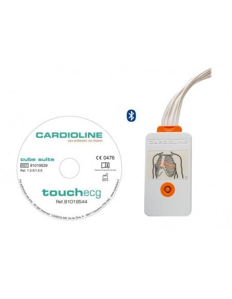 Electrocardiógrafo Cardioline TouchECG HD+ Windows