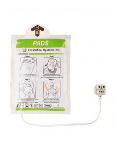 Pads electrodos desfibrilador CU-SP1