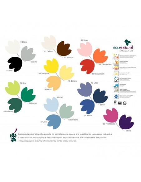 color tapizado camilla ecopostural
