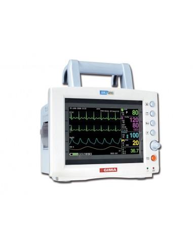 Monitor BM3, ECG, respiración, Sp02, NIBP y temperatura.