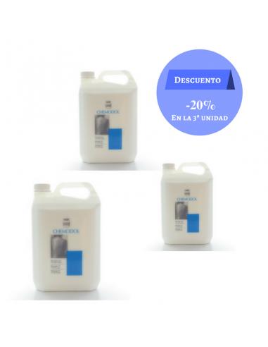 Pack aceite de masaje Chemodol 5 L.
