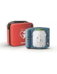 desfibrilador Philips Heartstart HS1 DESA con bolsa