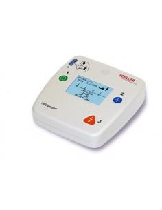 desfibrilador Schiller Fred Easyport AED (DESA) el más pequeño del mercado