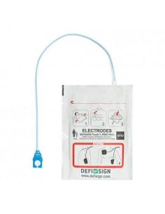 electrodos adulto para Desfibrilador semiautomatico DefiSign Life