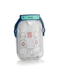 electrodos pediátricos para desfibrilador Philips Heartstart HS1
