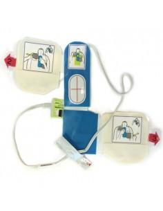 electrodos adulto Zoll CPR - D para desfibrilador ZOLL con metronomo