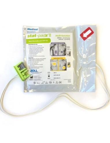 electrodos adulto Stat-Padz II para desfibrilador Zoll