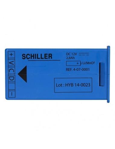 Batería desfibrilador Schiller Fred Easy
