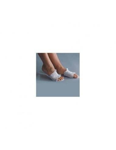 Zapatilla desechable abierta blanca...